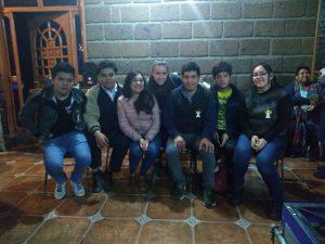 Die Jugendgruppe.