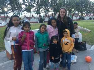 Ein Teil meiner Kindergruppe in San Buenaventura.