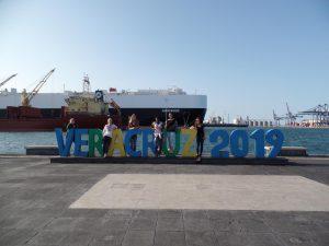Am Hafen in Veracruz.
